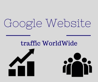 Google Website traffic WorldWide