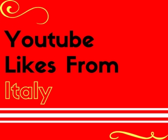 Youtube Likes From Italy