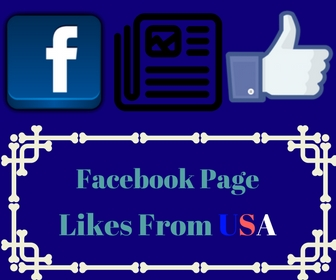 Facebook Page Likes From USA