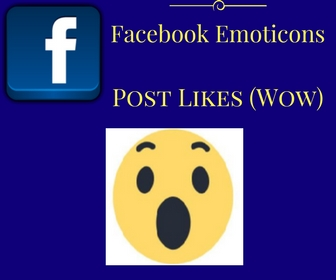 Facebook Emoticons Post Likes (Wow)