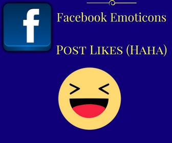 Facebook Emoticons Post Likes (Haha)