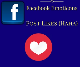 Facebook Emoticons Post Likes (love)