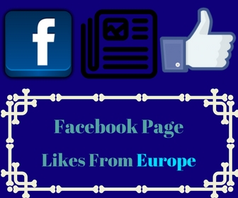 Facebook Page Likes From Europe