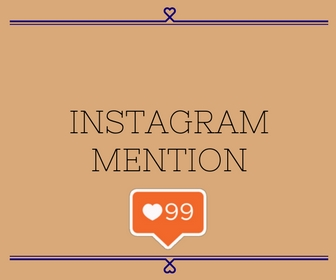 Instagram Mention