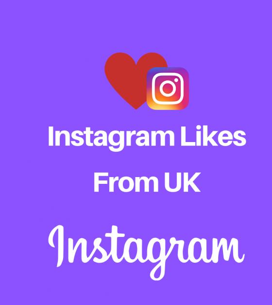 Instagram Likes From UK