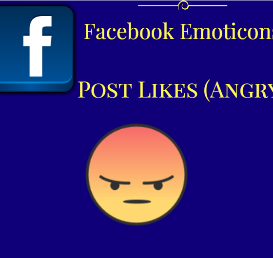 Facebook Emoticons Post Likes (Angry)