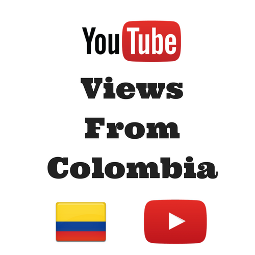 Buy Youtube Views From Colombia