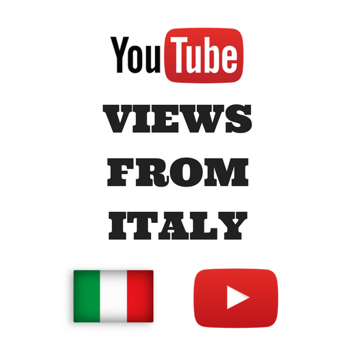 Buy Youtube Views From Italy