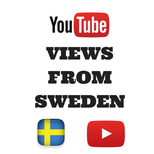 Buy Youtube Views From Sweden