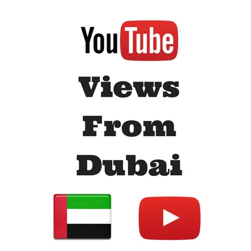Buy Youtube Views From Dubai