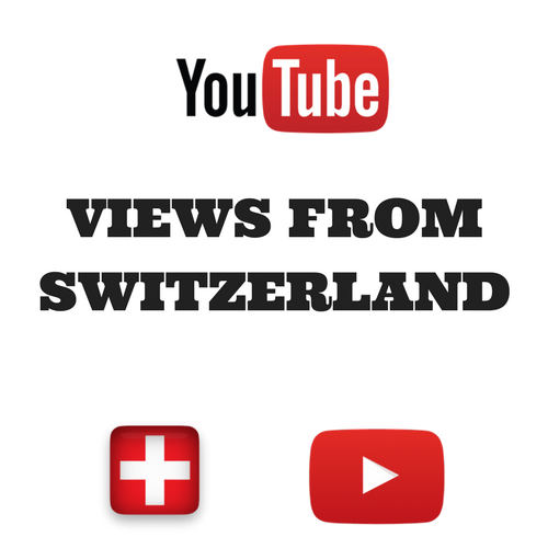 Buy Youtube Views From Switzerland