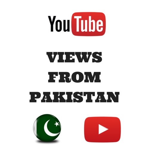 Buy Youtube Views From Pakistan