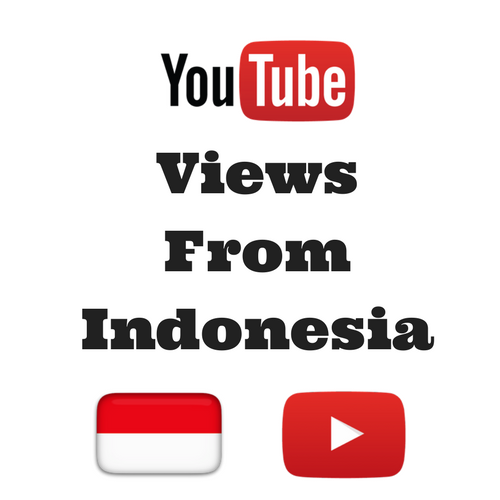 Buy Youtube Views From Indonesia